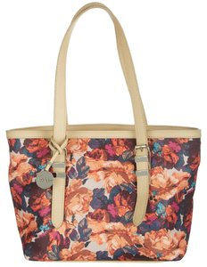 Nicole Miller Tote in Tea Rose / Sand