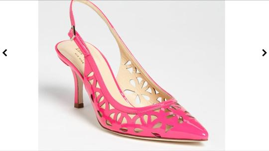 Kate Spade Lipstick Pink /patent Sandals