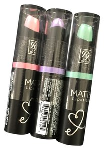 Matte Lipsticks - 3 Pack