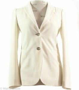 Gucci 362050 Wool Blend Ivory Jacket