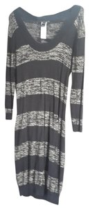 Mango short dress Black/Silver Sparkle Sweater on Tradesy