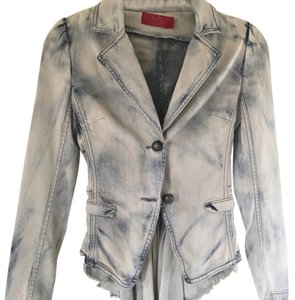 Tigerlily Coat Tails Light denim wash Womens Jean Jacket