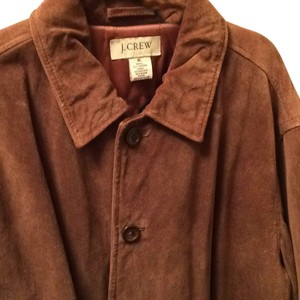 J.Crew Tan Suede Leather Jacket