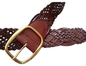 Apt. 9 brown braided belt