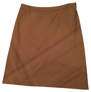 Ann Taylor Skirt Tan