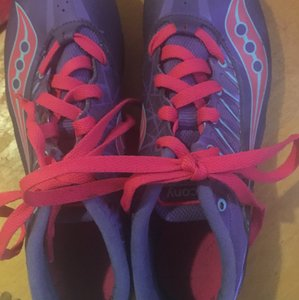 Saucony Purple and pink Athletic