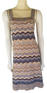 Design History short dress Multi Knit Zig Zag Pull-on on Tradesy