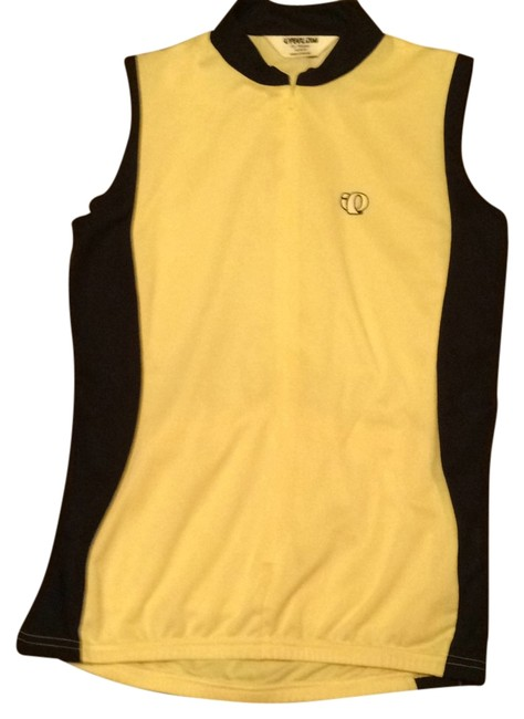 Item - Light Yellow and Black Activewear Top Size 8 (M, 29, 30)