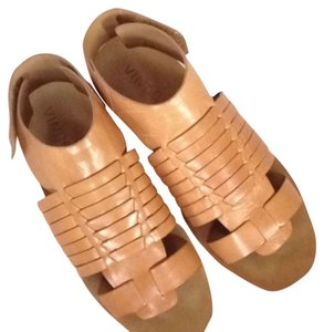 Vince Luxury Exclusive Butterscotch Sandals