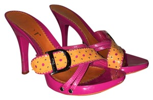 Dior Hot pink&orange Platforms