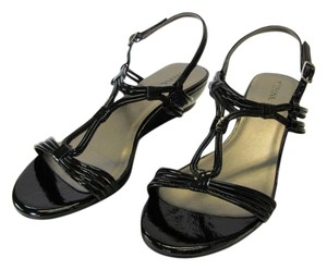 Merona New Size 9.00 M Excellent Condition Black Sandals