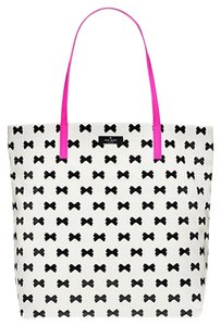 Kate Spade Bon Daycation Tote in Black/White