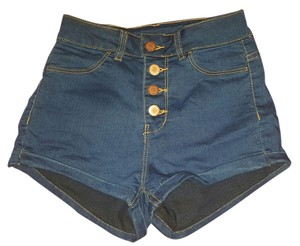 H&M High Waist Denim Beach Mini/Short Shorts