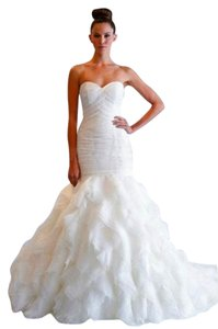 Dennis Basso Mermaid Sweetheart Wedding Gown Ivory Dennis Basso Designer Gown Kleinfeld Say Yes To The Dress Wedding Dress