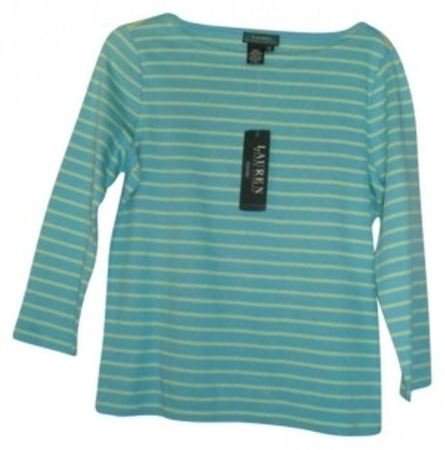 Preload https://item2.tradesy.com/images/ralph-lauren-turquoise-green-sweaterpullover-size-8-m-137776-0-0.jpg?width=400&height=650