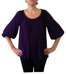 Diane von Furstenberg Top purple