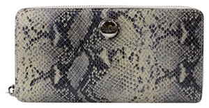 Coach Wallet Taylor Zip Around Exotic Snakesin Clutch