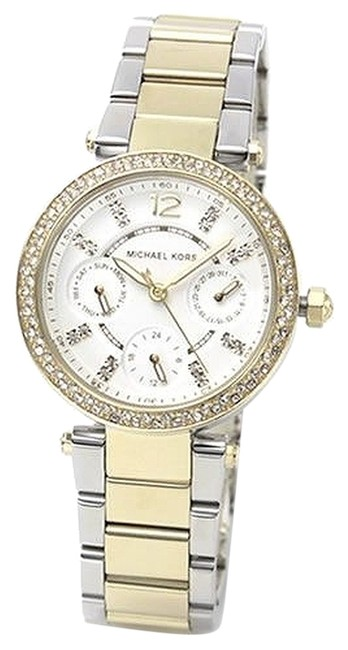 Item - Gold/Silver Mk6055 Chronograph Mini Parker Two Tone New Watch