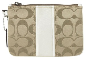 Coach Travel Khaki Gift Wristlet