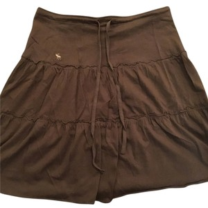 Abercrombie & Fitch Skirt Brown