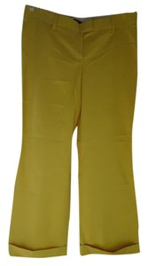 J.Crew New With Tags Nwt City Fit Trouser Pants Mustard