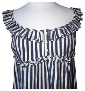L.A.M.B. short dress Blue and white stripes on Tradesy