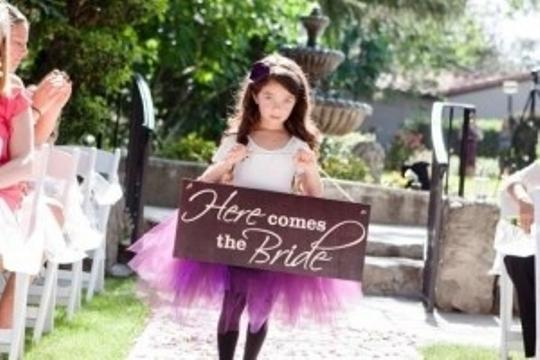 Preload https://img-static.tradesy.com/item/137791/here-comes-the-bride-wood-sign-flower-girl-basket-0-0-540-540.jpg