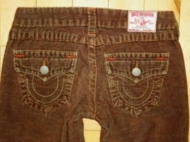 True Religion Straight Pants BROWN