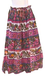 Just Class Maxi Skirt Multi
