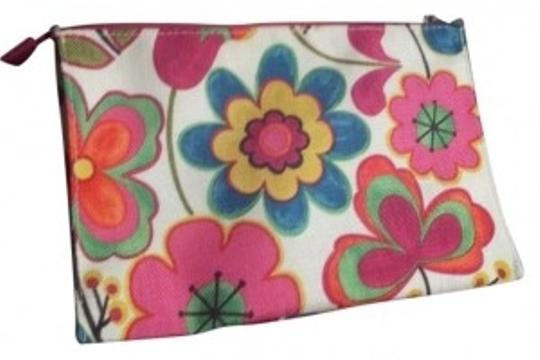 Preload https://item2.tradesy.com/images/clinique-pink-flowers-makeup-cosmetic-bag-137811-0-0.jpg?width=440&height=440