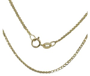14K Yellow Gold Foxtail Chain 16