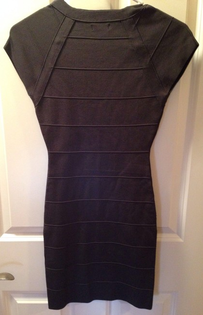 Express Bandage V-neck Stretchy Dress