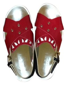 Marni Red Sandals