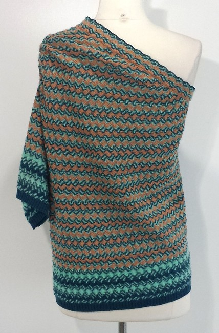 Missoni Wool Top Green/Beige