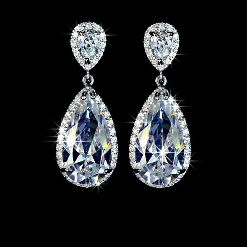 These Sparkly Teardrop Are Perfect For And Special Occasions Bullet Clasps Included