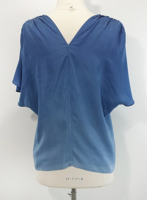 ADAM Lippes Silk Top Blue