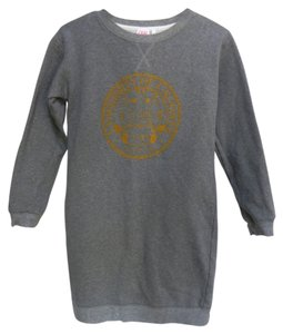 Lacoste short dress Gray Sweatshirt on Tradesy