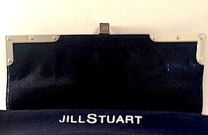 Jill Stuart Leather Black Clutch