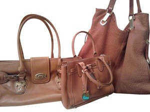 Michael Kors, Vince & Dooney Pebbled Leather Shoulder Bag