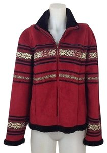 Coldwater Creek Womens Red Jacket