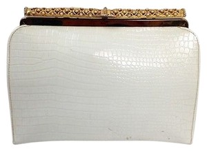 Womens After Five Vintage Off White Clutch