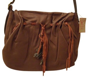 Lucky Brand Hollywood & Vine Leather Nwt New Cross Body Bag