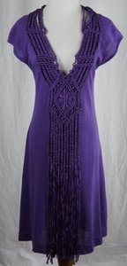 Nanette Lepore short dress Purple Galleon on Tradesy