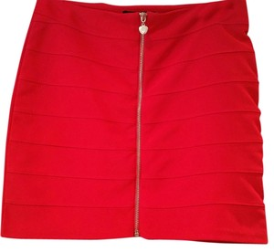 Love Culture Mini Style Mini Skirt Red