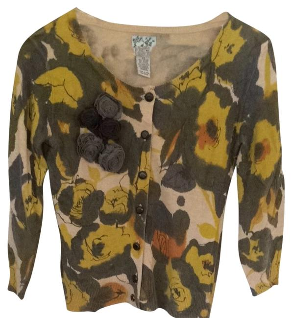 Preload https://item4.tradesy.com/images/anthropologie-green-yellow-grey-tabitha-cardigan-size-2-xs-1378858-0-0.jpg?width=400&height=650