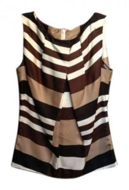 Preload https://img-static.tradesy.com/item/137889/tory-burch-brown-and-off-white-blouse-size-6-s-0-0-650-650.jpg