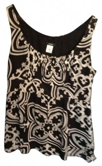 Preload https://item4.tradesy.com/images/jcrew-black-and-white-blouse-size-4-s-137893-0-0.jpg?width=400&height=650