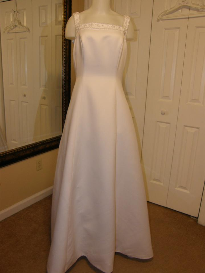 a81614f9b61 Alfred Angelo White 1967 Wedding Dress Size 12 (L) Image 0 ...