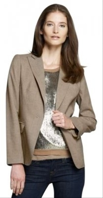 Jones New York Brown Tweed Blazer