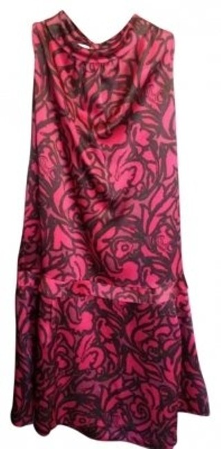Preload https://img-static.tradesy.com/item/137901/marc-by-marc-jacobs-deep-pink-floral-print-knee-length-workoffice-dress-size-4-s-0-0-650-650.jpg